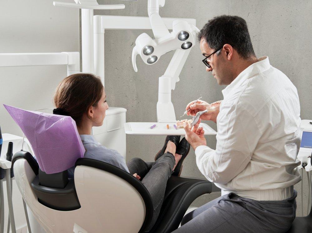 Testa en tandläkare i Kista
